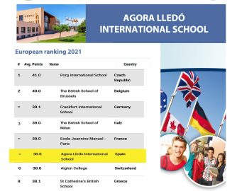 Ágora Lledó places Spain in the leadership of the International Baccalaureate